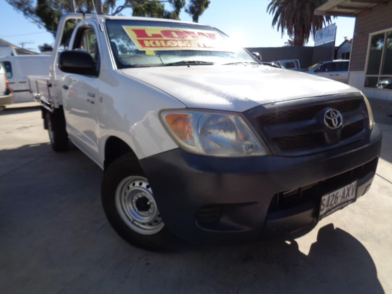 2008 Toyota Hilux TGN16R WORKMATE