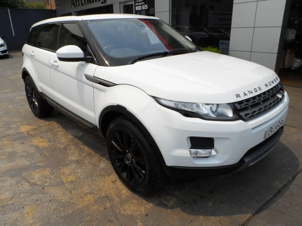 2013 Land Rover Range Rover TD4 PURE LV MY14 EVOQUE